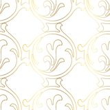 Retro pattern antique style acanthus. Seamless pattern. Vector hand-painted vintage baroque ornament vector illustration