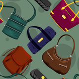 Vector Handbags Stock Photos