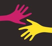 Vector handen vector illustratie
