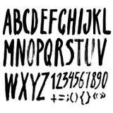Vector Handmade alphabet Royalty Free Stock Photography