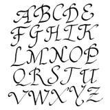Vector Handmade alphabet Royalty Free Stock Image