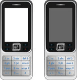 Vector Handphone Cellular Phone Royalty Free Stock Images