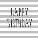 Vector happy birthday Stock Photos
