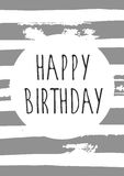 Vector happy birthday Royalty Free Stock Photography