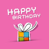 Vector Happy Birthday to You Theme Royalty Free Stock Photos