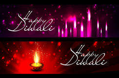 Vector happy diwali Stock Images