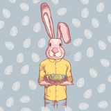 Vector Happy Easter concept Royalty Free Stock Photo