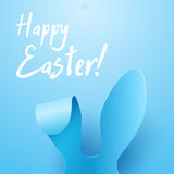 Vector Happy Easter Greeting Card Stock Photography
