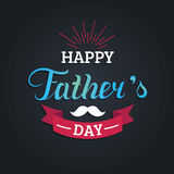 Vector Happy Fathers Day calligraphy for greeting card, festive poster etc. Vector Happy Fathers Day calligraphy for greeting card, festive poster etc Royalty Free Stock Photography