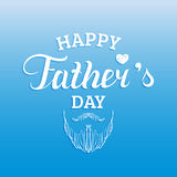 Vector Happy Fathers Day calligraphy for greeting card, festive poster etc. Vector Happy Fathers Day calligraphy for greeting card, festive poster etc Stock Photos