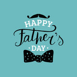 Vector Happy Fathers Day calligraphy for greeting card, festive poster etc. Vector Happy Fathers Day calligraphy for greeting card, festive poster etc Stock Photo