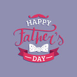Vector Happy Fathers Day calligraphy for greeting card, festive poster etc. Vector Happy Fathers Day calligraphy for greeting card, festive poster etc Royalty Free Stock Photo