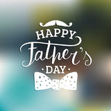 Vector Happy Fathers Day calligraphy for greeting card, festive poster etc. Vector Happy Fathers Day calligraphy for greeting card, festive poster etc Stock Images