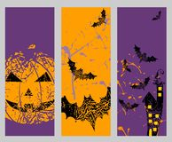 Vector Happy halloween Royalty Free Stock Images