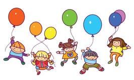 Vector  happy kids. Stock Images