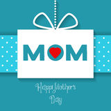 Vector Happy Mothers Day celebration card Stock Images