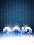 Vector happy new year background. Happy new year 2012 vector background with space for your text Royalty Free Stock Photos
