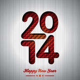 Vector Happy New Year 2014 colorful celebration background Stock Photo