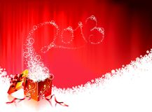 Vector Happy New Year design. Stock Photos