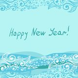 Vector - Happy New Year 2014. This is file of EPS8 format Royalty Free Stock Photo