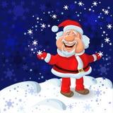 vector Happy Santa Claus royalty free stock photo