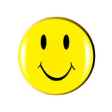 Vector happy smiley Royalty Free Stock Photo