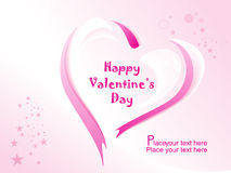 Vector for happy valentine day Royalty Free Stock Images
