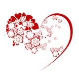 Vector hart royalty-vrije stock foto