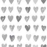 Vector hartpatroon Royalty-vrije Stock Afbeeldingen