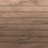 Vector hazel wood grain texture planks. Wooden table surface. Royalty Free Stock Photos