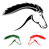 Vector head of horse Royalty Free Stock Photography