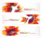 Vector  header with place for text Royalty Free Stock Images