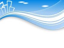 Vector header for real estate Royalty Free Stock Photos