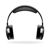 Vector headphone Stock Photography
