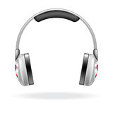 Vector headphones  Royalty Free Stock Image