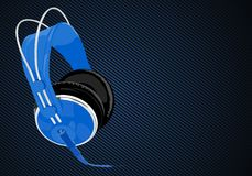 Vector headphones Stock Photography