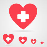 Vector health care icon Royalty Free Stock Photos