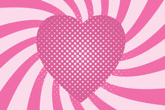 Vector heart Royalty Free Stock Photos