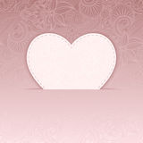 Vector heart. Vector heart from Valentines day card eps 10 Stock Image