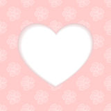Vector heart. Vector heart from Valentines day card eps 10 Stock Photography