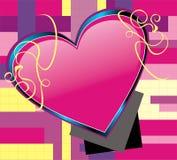 Vector Heart Art 4 Royalty Free Stock Photo