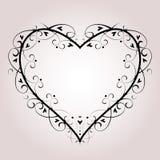 Vector Heart Background Royalty Free Stock Photos