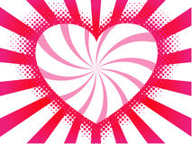 Vector heart background Royalty Free Stock Image