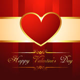 Vector heart background Stock Photo