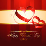 Vector heart background Royalty Free Stock Photo