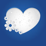 Vector Heart Background / Brochure Design. Vector wet Heart Background / Brochure Design Royalty Free Stock Images