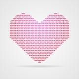 Vector heart Stock Image