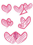 Vector heart design set Stock Photo