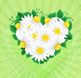 Vector heart flower Royalty Free Stock Photography