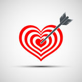 Vector heart icon Stock Photo